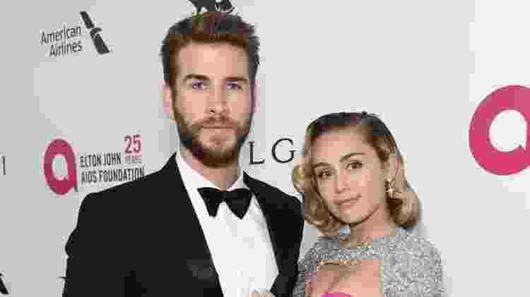 Miley Cyrus e Liam Hemsworth - Getty Images - Getty Images