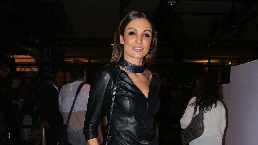 A apresentadora e jornalista Patrícia Poeta, em um evento de moda - AgNews