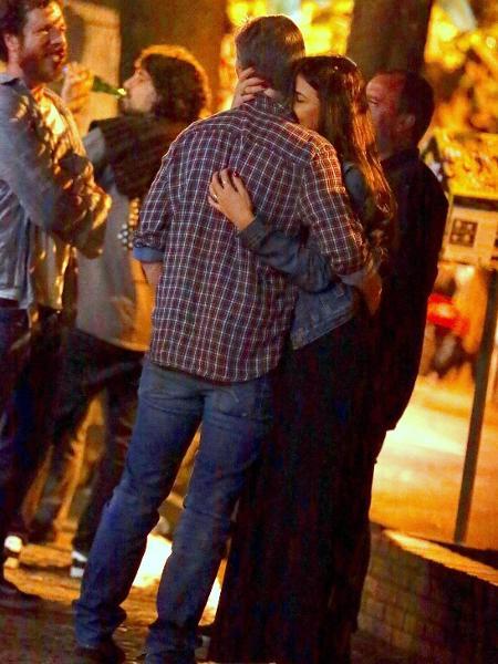 Marcello Novaes e namorada curtem noite carioca - AgNews
