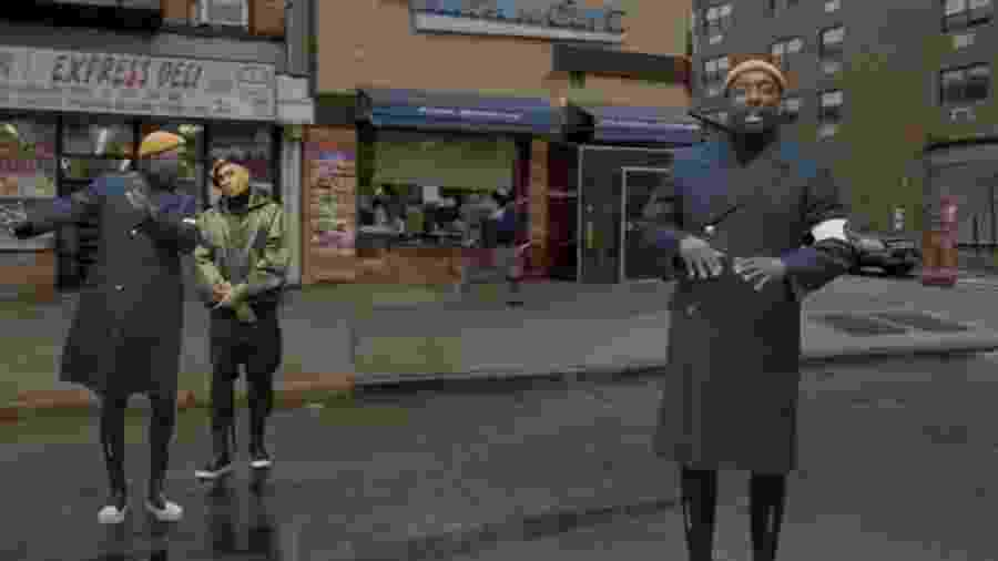 """Cena do clipe """"Constant"""" do Black Eyed Peas - Divulgação"""