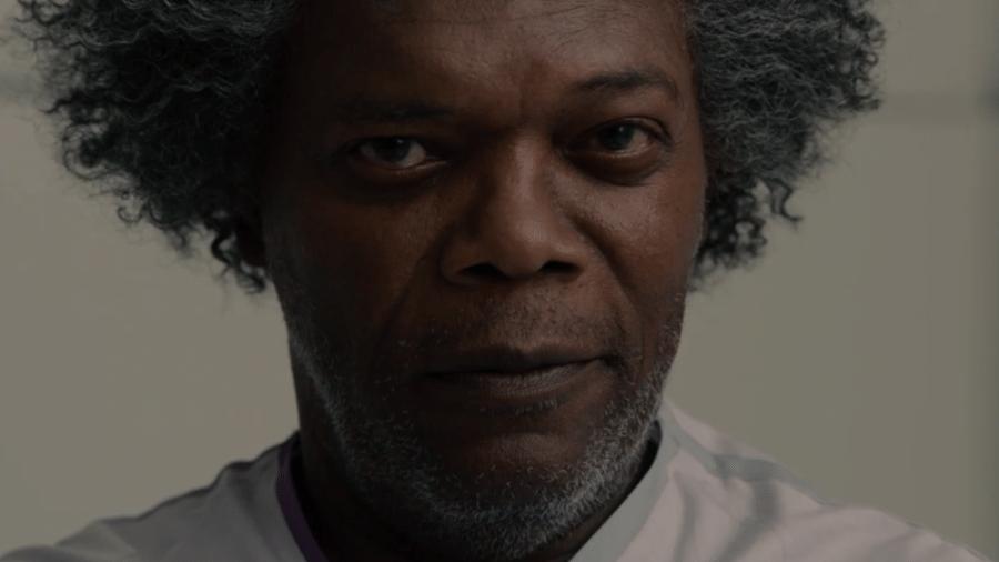 """Samuel L. Jackson no novo trailer de """"Vidro"""" - Reprodução/YouTube"""