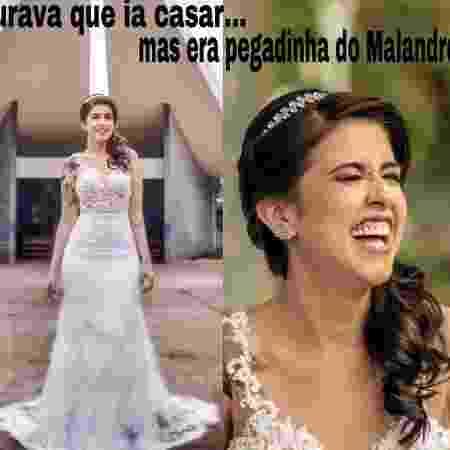 Karlla criou memes para encarar com serenidade a situação - Divulgação