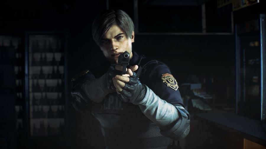 """Leon é um dos protagonistas de """"Resident Evil 2"""" - Reprodução"""