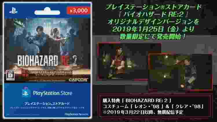 Resident Evil 2 Roupas Clássicas 02 - Reprodução - Reprodução