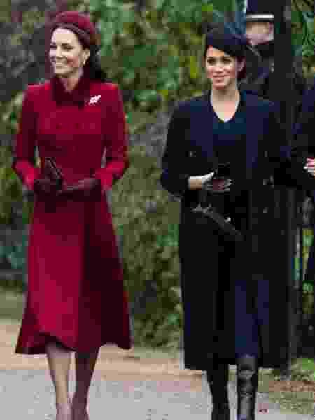 Kate Middleton e Meghan Markle são os maiores alvos de comentários preconceituosos nas redes - UK Press/Getty Images