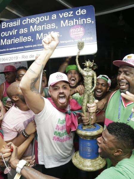 Carnavalesco Leandro Vieira é a aposta para levar a Mangueira ao bicampeonato - Júlio César Guimarães/UOL