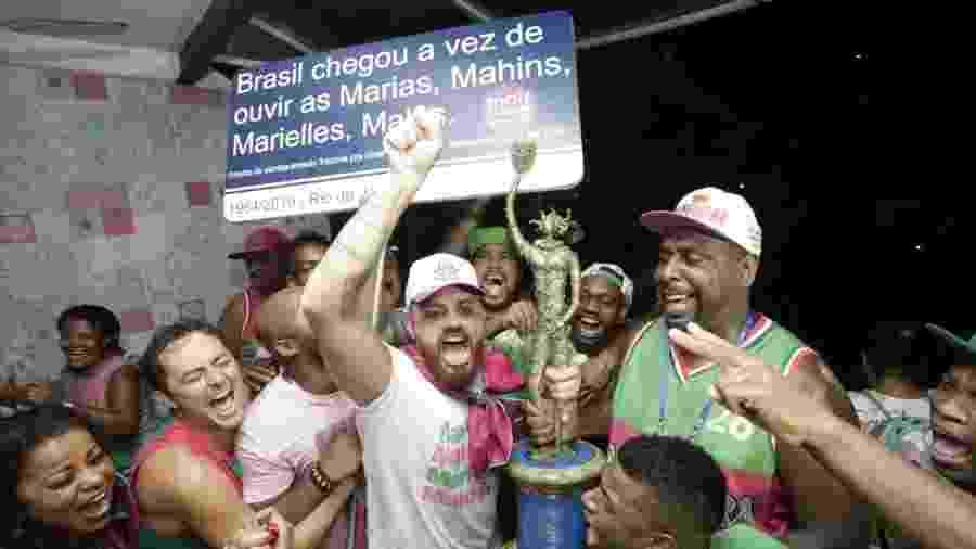 No Carnaval de 2019, o título no Rio de Janeiro ficou com a Mangueira - Júlio César Guimarães/UOL