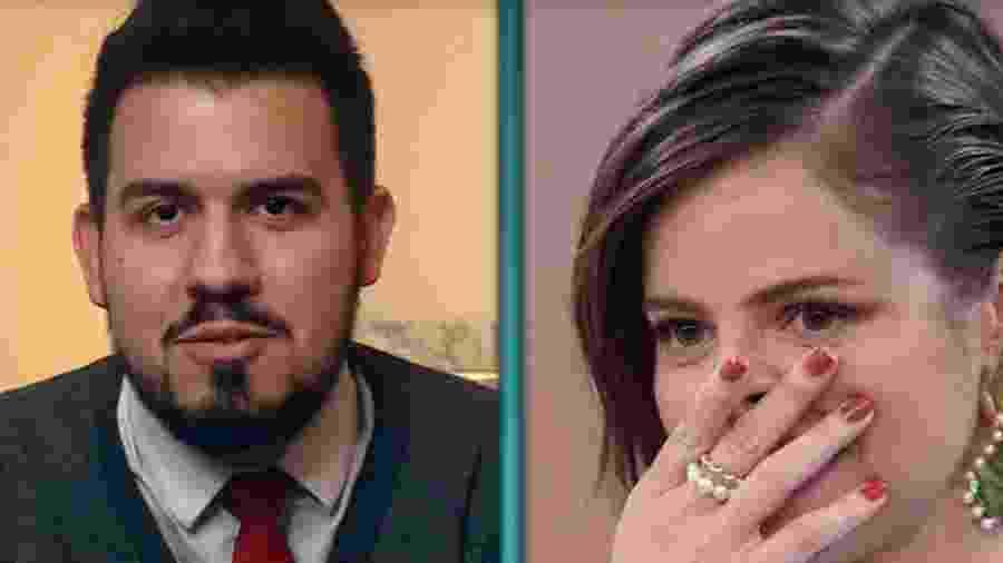 Primeiro namorado de Agatha Moreira - Reprodução/Globo