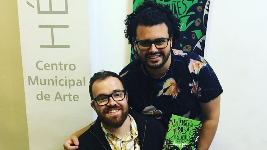 Os carnavalescos Leonardo Bora e Gabriel Haddad  - Reprodução/Instagram