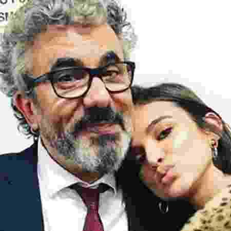Manu Gavassi e o pai, Zé Luiz - Reprodução/Instagram