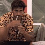Guilherme reclama com Prior e Flayslane - Reprodução/Globoplay