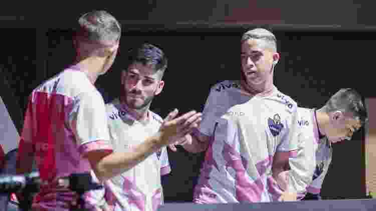 Formação principal da Vivo Keyd disputa a Série A da LBFF - Divulgação/Garena