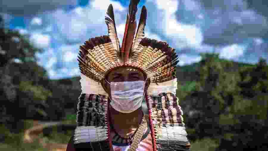 Indígenas e covid-19 - Edgar Kanaykõ Xakriabá Etnofotografia | antropologia