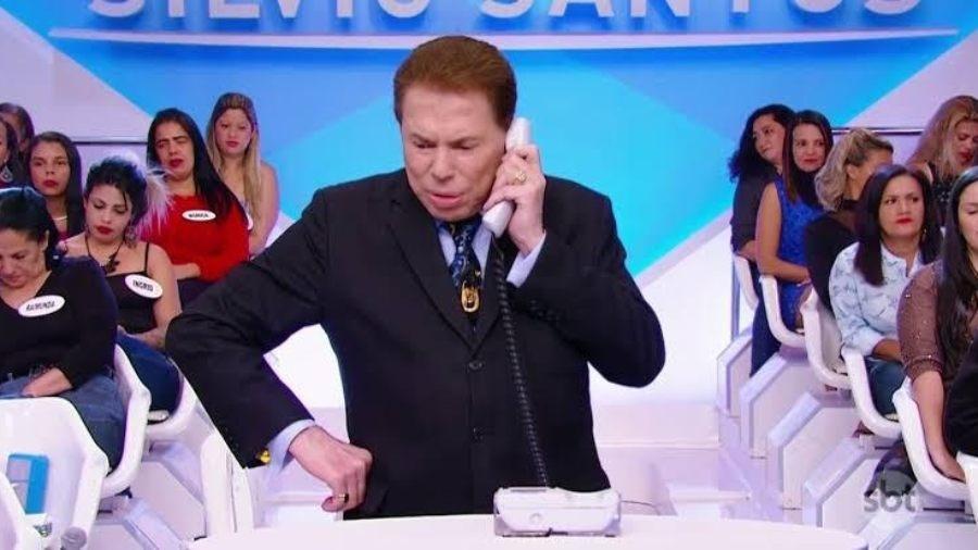 Silvio Santos, dono e apresentador do SBT - Reprodução/SBT