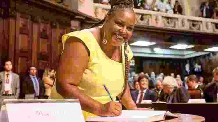Mônica Francisco, deputada estadual do Rio de Janeiro pelo PSOL e ex-assessora de Marielle - Rafael Wallace - Rafael Wallace