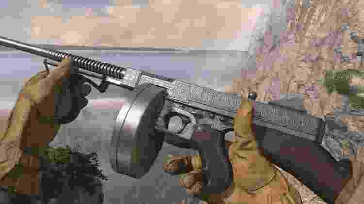 Call of duty WW2 Armas - Divulgação/Hectorlo - Divulgação/Hectorlo