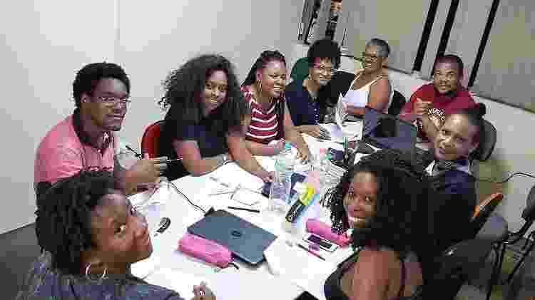 Alunos da Ebony, escola de inglês - Arquivo Pessoal - Arquivo Pessoal