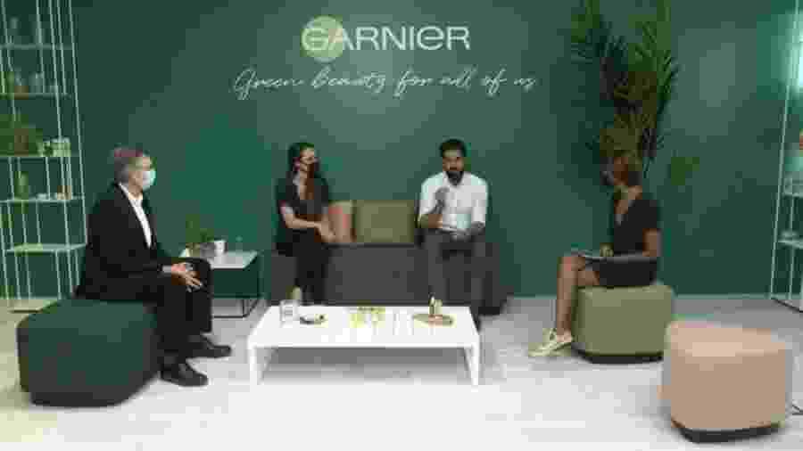 O presidente global da Garnier, Adrien Koskas, anuncia metas de sustentabilidade para a marca - Divulgação