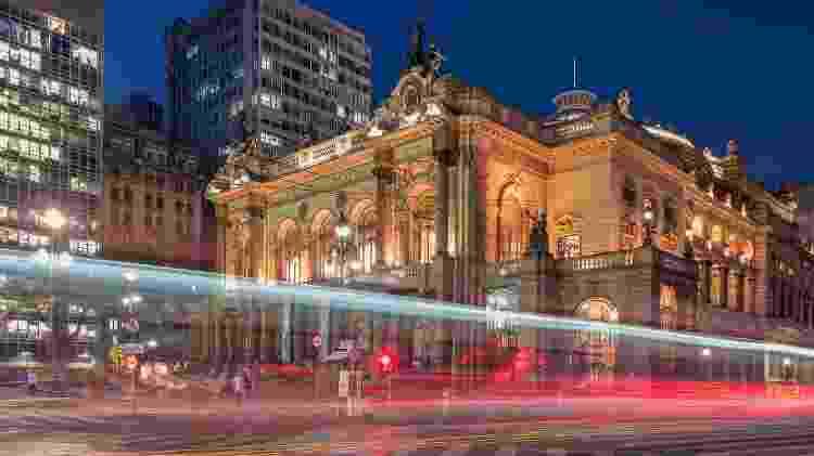 Teatro Municipal de São Paulo é um dos monumentos históricos imperdíveis para quem está na capital paulista - Getty Images - Getty Images