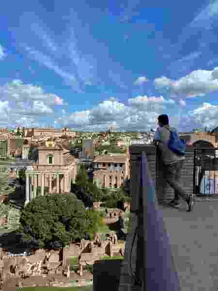 Fórum Romano esvaziado, visto de cima - Rafael Tonon - Rafael Tonon