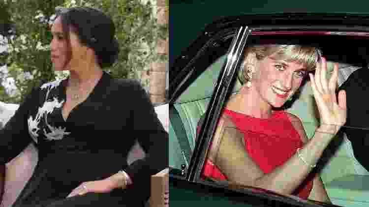 Lady Di - Reprodução YouTube e Getty Images - Reprodução YouTube e Getty Images