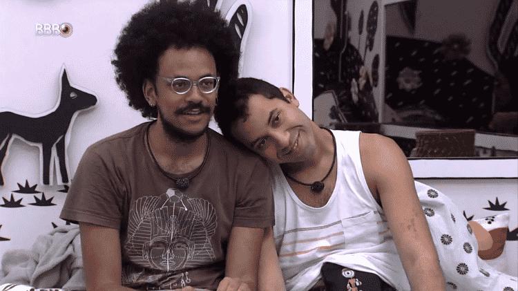 BBB 21: João Luiz e Gilberto conversam no quarto cordel - Reprodução/Globoplay - Reprodução/Globoplay