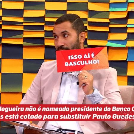 """Gil do Vigor alfinetou governo no """"Papo de Segunda"""" - Vídeo/Reprodução"""