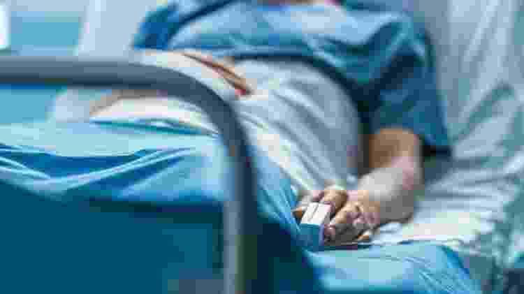 Coma, pessoa em coma, internada, internado, UTI, leito de hospital - iStock - iStock