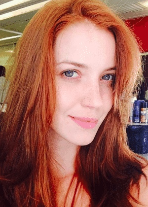 Nathalia Dill fica ruiva para viver vilã das 23h - Reprodução Instagram