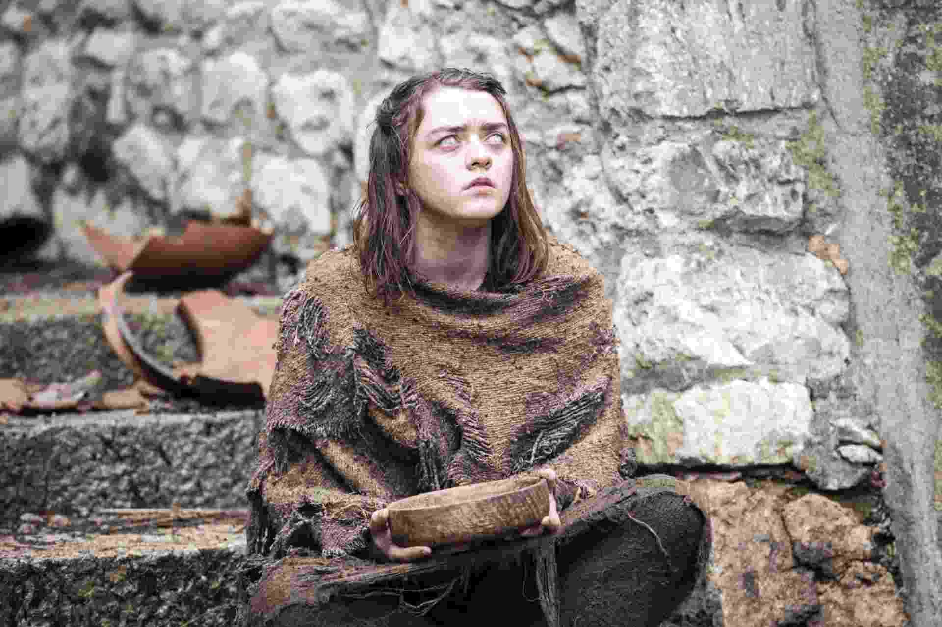 """Arya aparece cega em cena da sexta temporada de """"Game of Thrones"""" - Divulgação/HBO"""