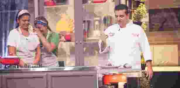"""""""Batalha dos Cozinheiros"""" tem audiência decepcionante na Record - EduMoraes/Divulgação/Record/"""