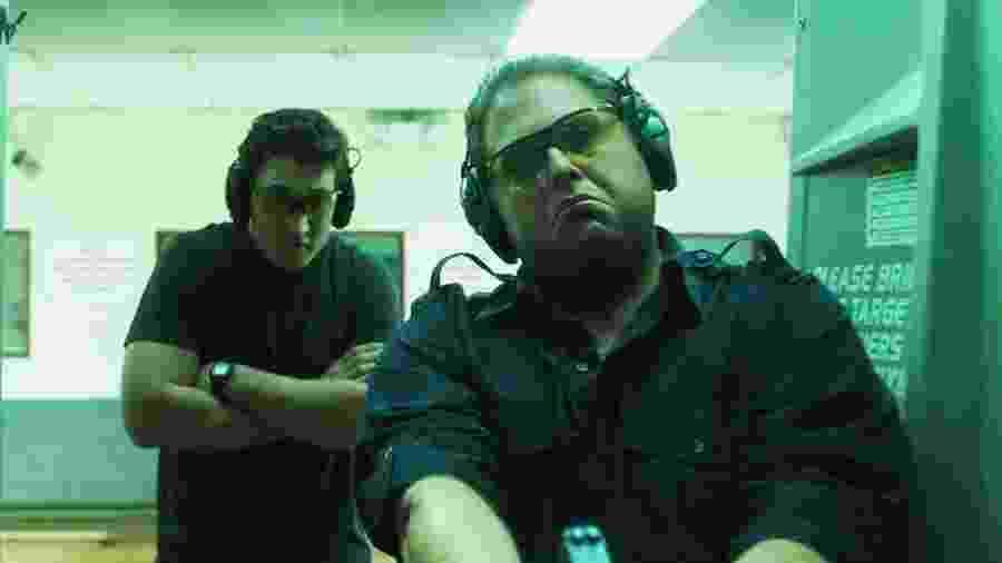 """Miles Teller e Jonah Hill em cena do filme """"Cães de Guerra"""", de Todd Phillips - Divulgação"""