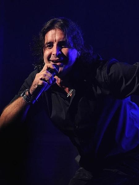Scott Stapp, ex-vocalista do Creed, durante show em Nova York - Fernando Leon/Getty Images