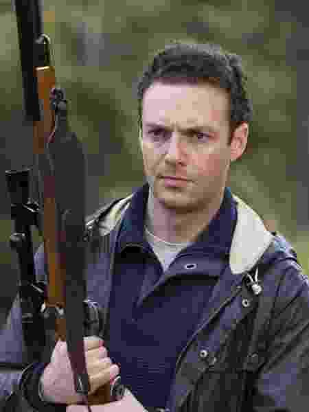 """Ross Marquand é Aaron em """"The Walking Dead"""" - Divulgação/AMC - Divulgação/AMC"""