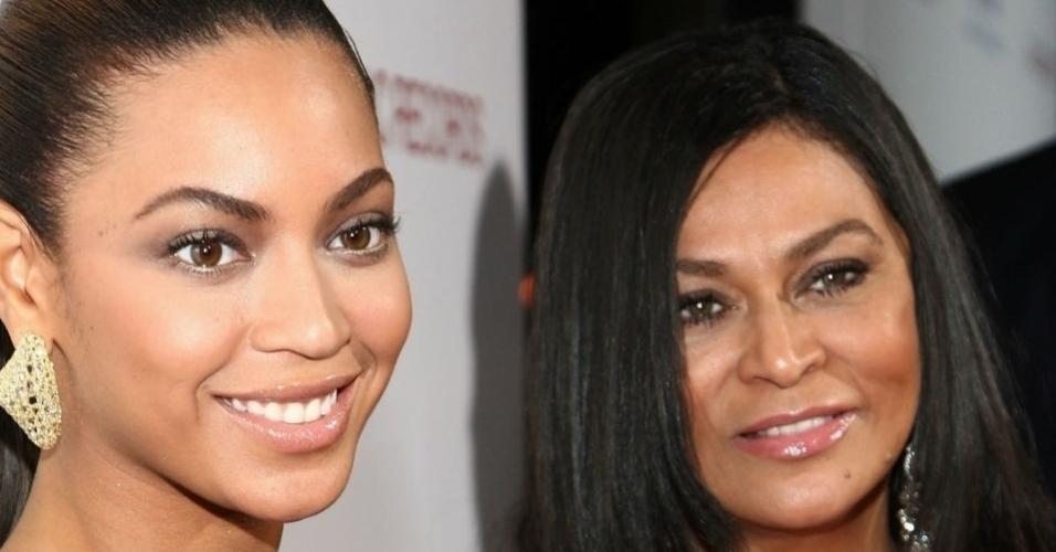 Beyoncé só poderia ser filha de alguém como Tina Knowles. Ela é daquelas mães superelegantes que chamam atenção por onde passam