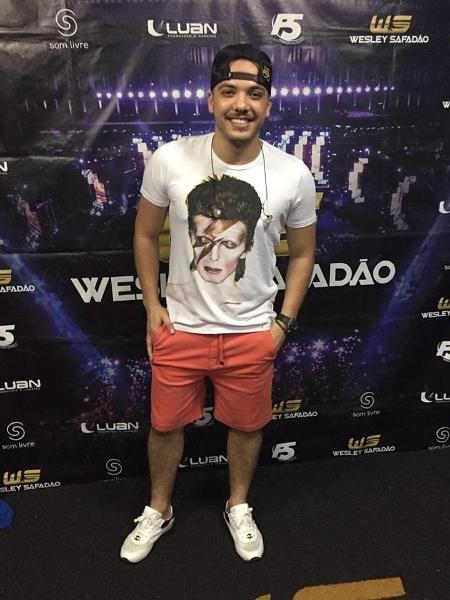 O cantor Wesley Safadão - Reprodução