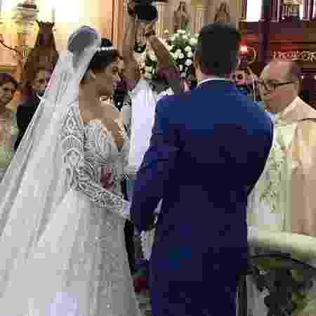 """""""É oficial casados"""", escreveu Anderson na legenda da foto - Reprodução/Instagram - Reprodução/Instagram"""