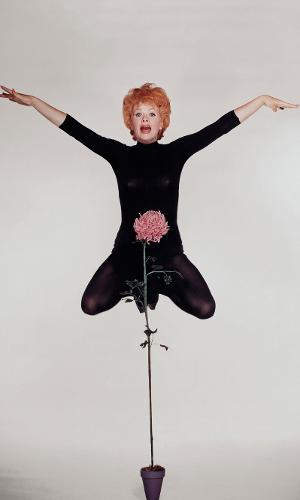 A atriz Lucille Ball