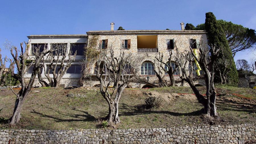 Casa onde o pintor viveu seus últimos anos foi finalmente vendida - AFP PHOTO / VALERY HACHE