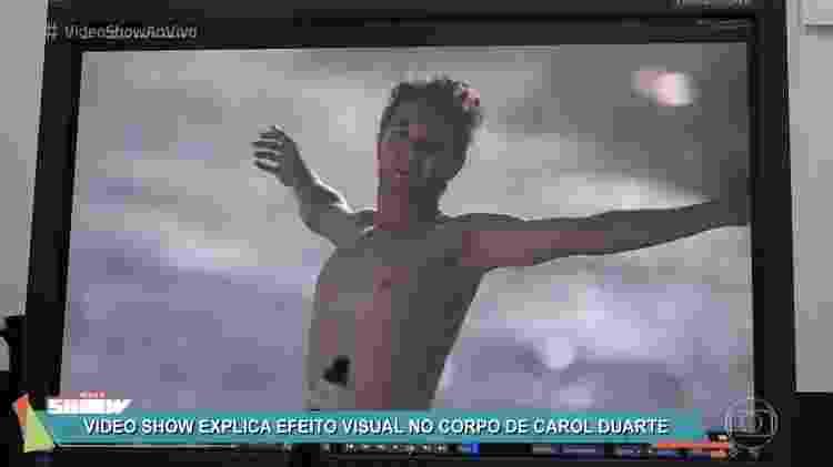"""Dublê que """"emprestou"""" peitoral para Ivan (Carol Duarte) no último capítulo de """"A Força do Querer"""" - Reprodução/TV Globo - Reprodução/TV Globo"""