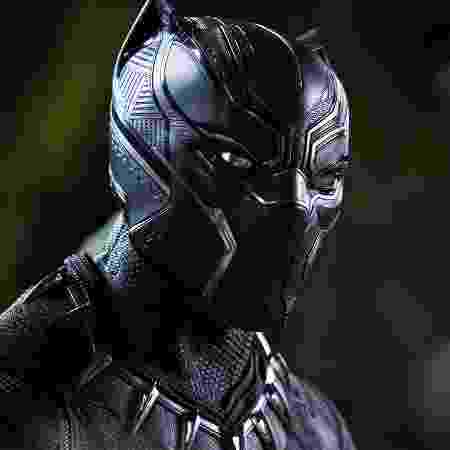 Detalhe de Pantera Negra - Divulgação