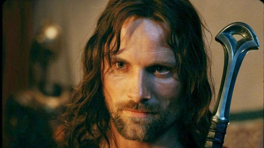 """Viggo Mortensen como Aragorn na trilogia """"O Senhor dos Anéis"""" - Reprodução"""