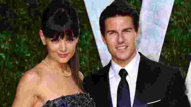 Kate Holmes e Tom Cruise - Alberto E. Rodriguez/Getty Images - Alberto E. Rodriguez/Getty Images