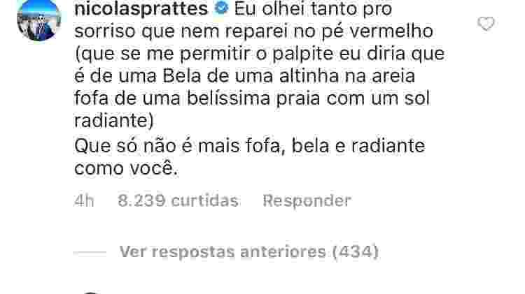 Nicolas Prattes se declara para Juliana Paiva - Reprodução/Instagram/juulianapaiva - Reprodução/Instagram/juulianapaiva