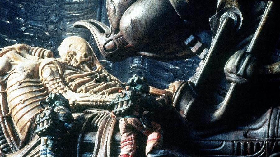 """Cena do filme """"Alien - O Oitavo Passageiro"""" - Reprodução"""