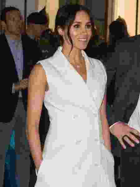 Blazer branco de Meghan Markle - Getty Images - Getty Images