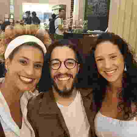 Marielle, Jean Wyllys e Monica em foto publicada pela arquiteta nesta quinta-feira (24) - Reprodução/Instagram/@monicaterezabenicio