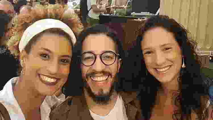 Marielle, Jean Wyllys e Monica em foto publicada pela arquiteta nesta quinta-feira (24) - Reprodução/Instagram/@monicaterezabenicio - Reprodução/Instagram/@monicaterezabenicio