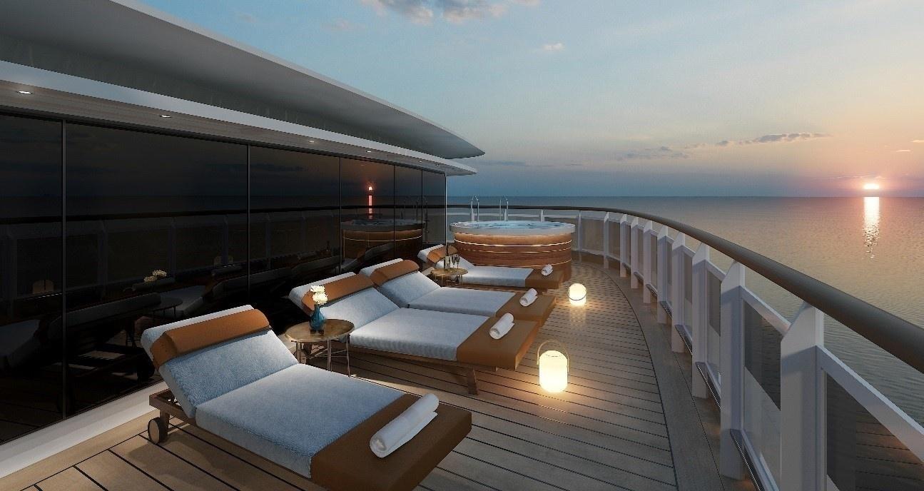 Novo navio terá acomodação com tamanho de apartamento e cama de R$ 750 mil
