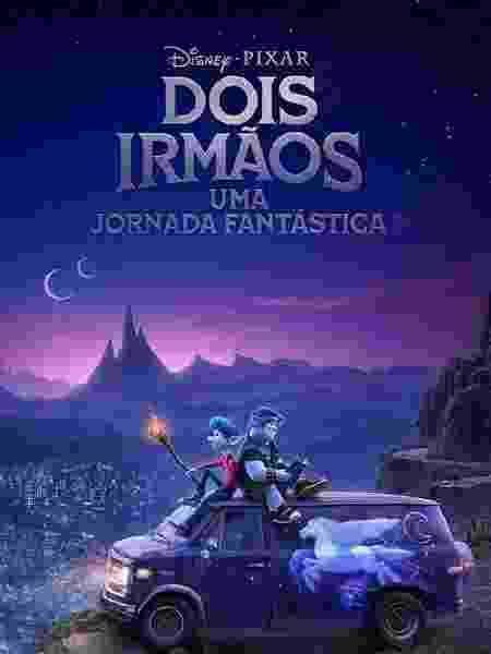 """Pôster do filme """"Dois Irmãos - Uma Jornada Fantástica"""", da Pixar - Divulgação"""